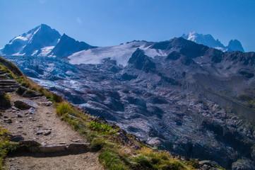 glacier of tour,chamonix,haute savoie,france