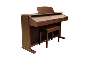 The image of a piano