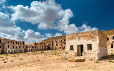 Ksar Ouled M'hemed at Ksour Jlidet village, South Tunisia