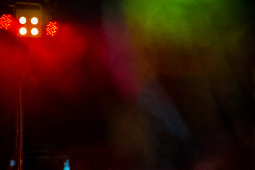 Concert stage.