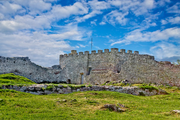 Kremenets castle of the 13th century, Ukraine.