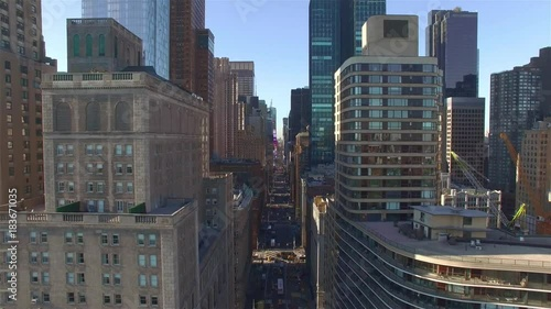 Camera Flying Left Along West 57th Street Filming 7th Avenue Stock Footage And Royalty Free Videos On Fotolia