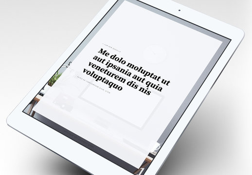 Elegant eBook Layout