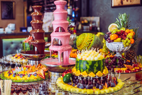 Awe Inspiring Delicious Sweets And Fruits On Candy Buffet Lot Of Colorful Download Free Architecture Designs Embacsunscenecom