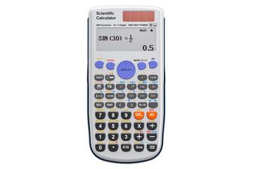 Scientific calculator, 3D rendering