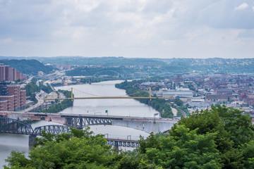Skyline of Pittsburgh, Pennsylvania from Mount Washington