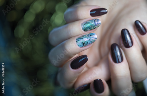 Beautiful Nail Art Manicure Nail Designs With Decorationnicure