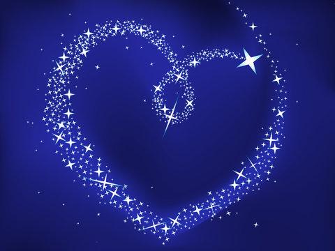 Blue Valentine Background