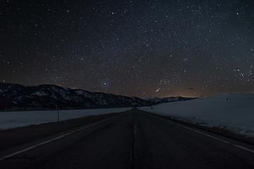 Galena stars at night