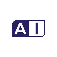 initial letter logo simple shape