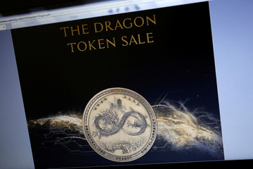 The official white paper released by Dragon Inc is displayed on a website in this illustration photo in Hong Kong
