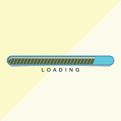 loading Vector Template Design