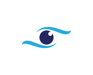 Eye Care vector logo design