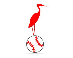 baseball stork