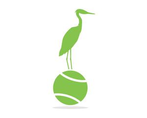 tennis stork green