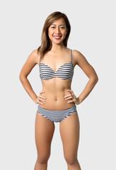 asian woman bikini