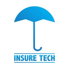 Sign / Icon / Symbol InsureTech - Insurance Technology Startup