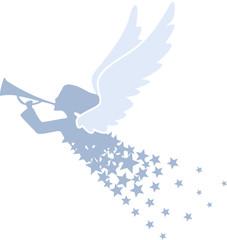 Engel mit Posaune