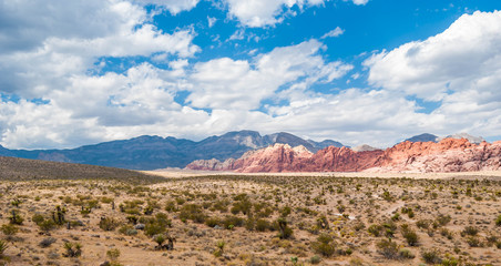 Red Rock Canyon, USA.