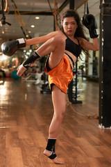 Performing a kick