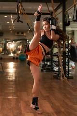 Art of Muay Thai boxing