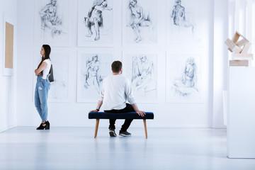 Fine arts academy exhibition