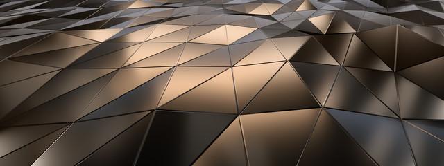 Background Metallfacetten 3