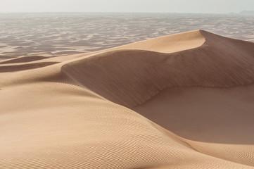Desert, nature, sand, sun, fine sand, sky