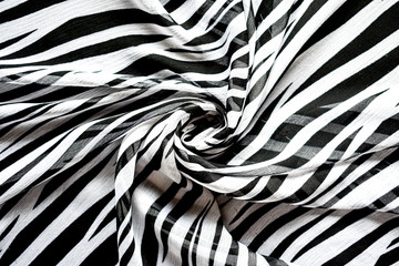 abstract background in black and white stripes - zebra, material in the style of African animal coloring