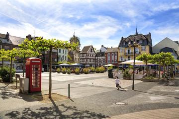 Leben (fast) auf dem Land: Beschaulichkeit im Zentrum der Kreisstadt Euskirchen an einem Wochenende