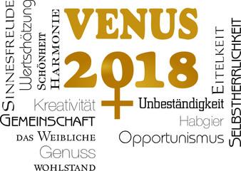 2018 - Jahr der Venus