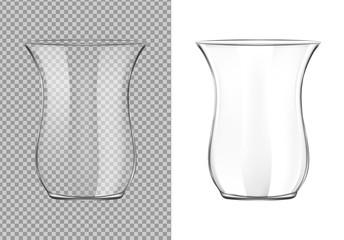 Turkish transparent tea cup
