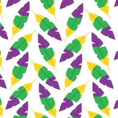 feather tricolor pattern image vector illustration design