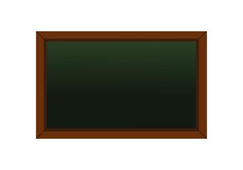 Black board illustration vector