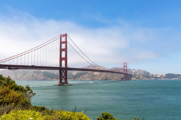 The Golden Gate Bridge, San Francisco, California.