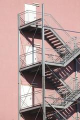 Außentreppe aus Stahl