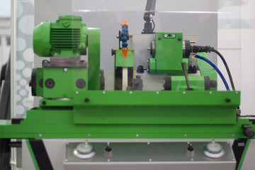 Lathe machine for metal industry