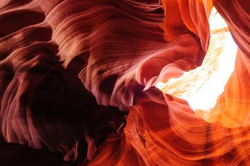 Red Rocks of Antelope Canyon