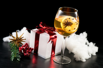 christmas drink festive decoration punch hot spice