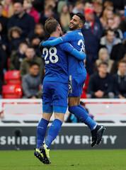 Premier League - Stoke City vs Leicester City