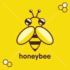 Bee icon. Vector