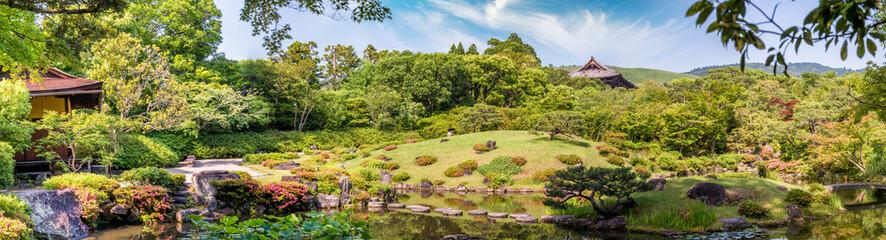 Nara, Japan - Isuien Garden. Japanese style garden