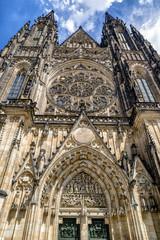 Saint Vitus cathedral in Prague, Cuech republic