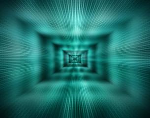 High Speed Tunnel - Abstract Illustration