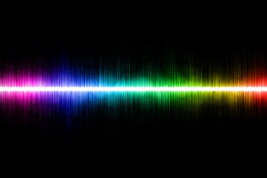 Foggy Light Spectrum - Abstract Background