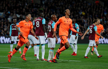 Premier League - West Ham United vs Liverpool