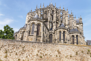 Cathedral Saint Julien Le Mans, France