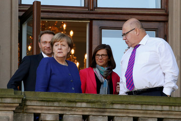 Exploratory talks about forming a new coalition government in Berlin