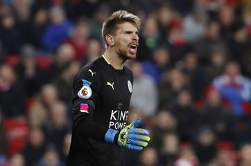 Leicester City's Ron-Robert Zieler