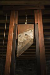 Medieval guillotine in Ghent, Belgium